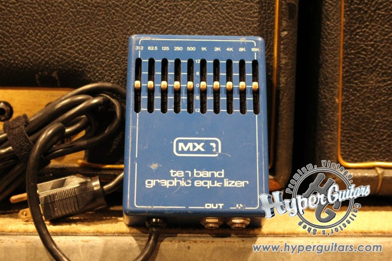 MXR 70's 10 Band Graphic Equalizer