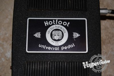 Electro-Harmonix Hot Foot Universal Pedal