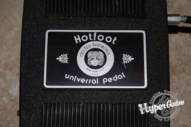 Electro-Harmonix Hot Foot Universal Pedal