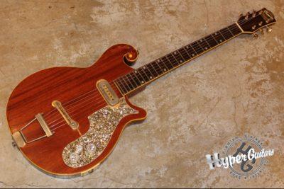 Premier / Multivox 60's Scroll Guitar