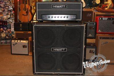 Hiwatt 80's Custom 100 + Cabi Set