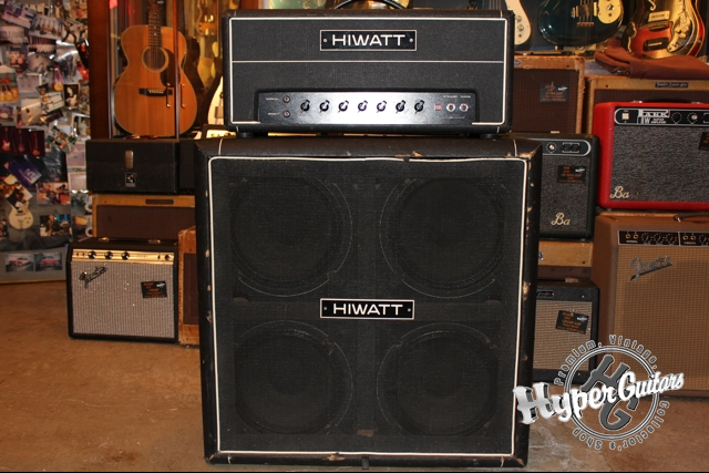 Hiwatt 80's Custom 100 + Cabi Set
