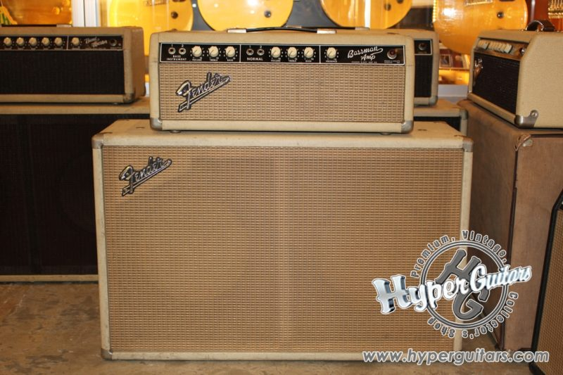 Fender '63 Bassman Amp Set