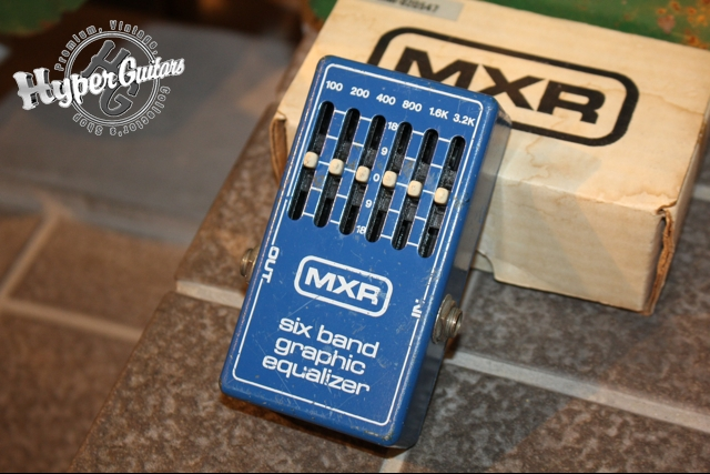 MXR '78 Six Band Graphic Equalizer