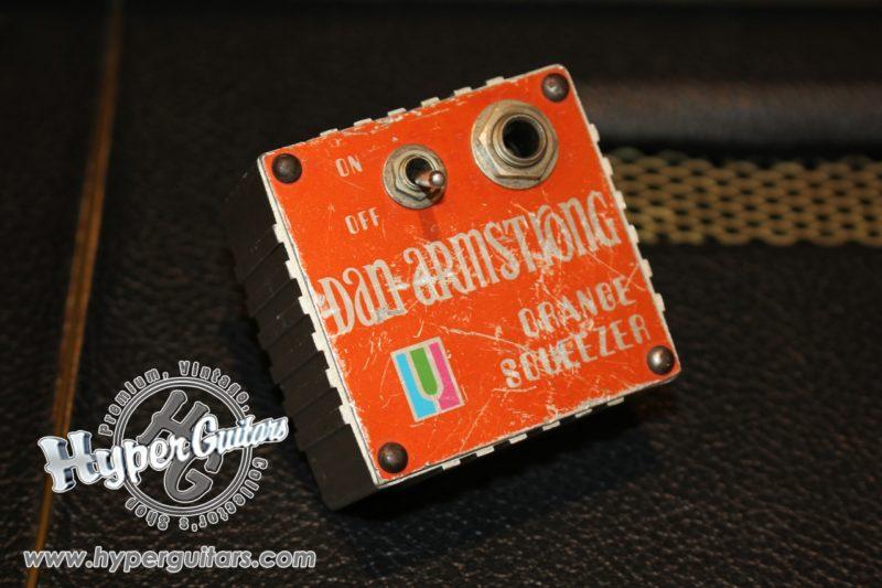 Dan Armstrong 70's Orange Squeezer