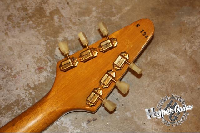 Gibson '82 Flying V Heritage Korina
