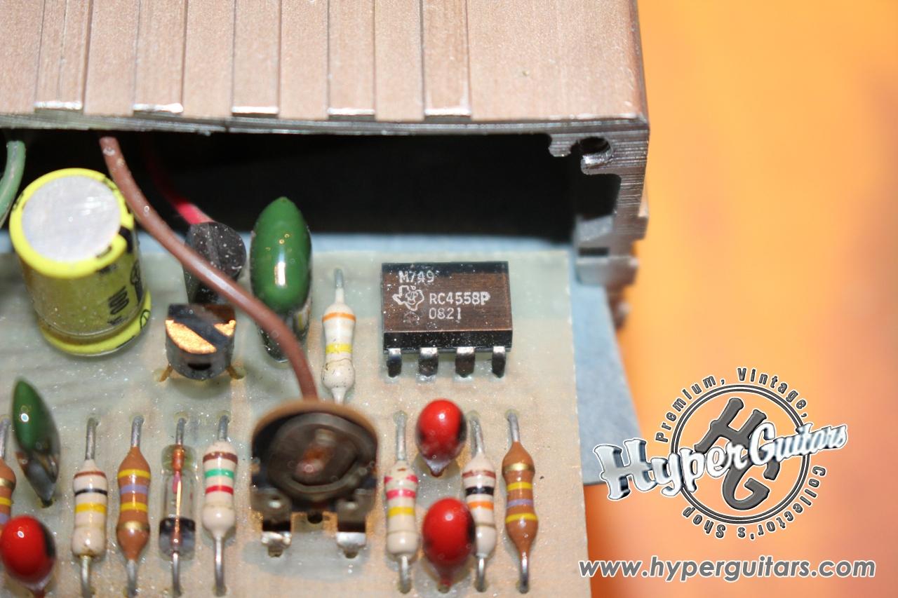 Dan Armstrong 70's Orange Squeezer - オレンジ - Hyper Guitars | ヴィンテージギター ...