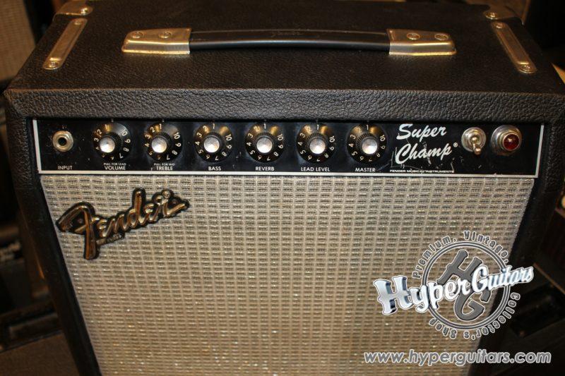 Fender '83 Super Champ Amp
