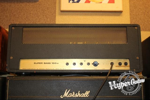 Marshall '74 #1992 Super Bass 100W