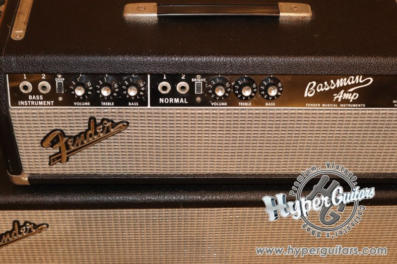 Fender '66 Bassman Amp Set