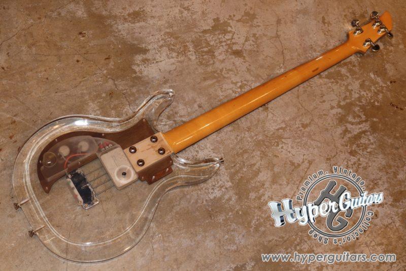 Dan Armstrong・Ampeg '70 Lucite Bass
