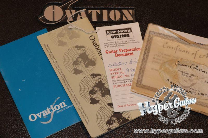 Ovation '84 #1984-5