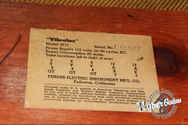 Fender '58 Vibrolux