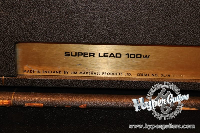 Marshall '74 #1959 Super Lead 100W Head