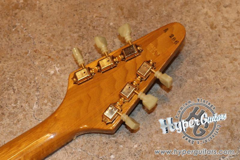 Gibson '81 Flying V Heritage Korina