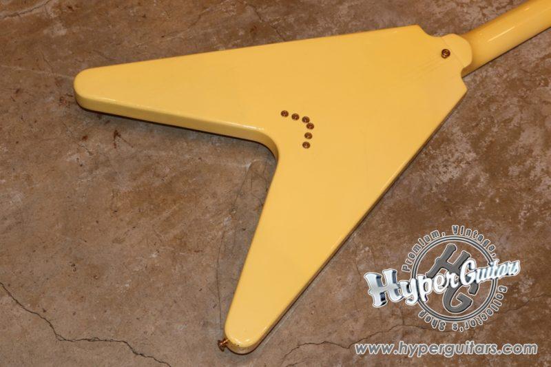 Gibson '83 Flying V Heritage Korina