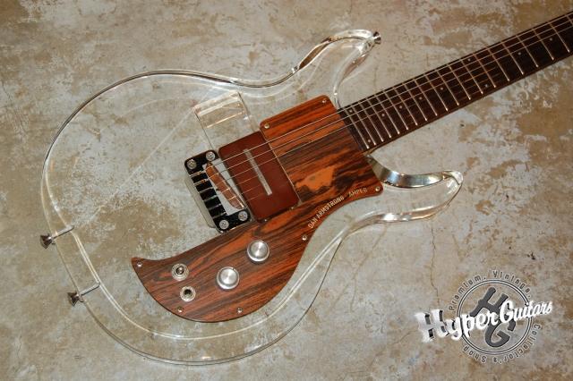 Ampeg DanArmstrong '70 Lucite guitar