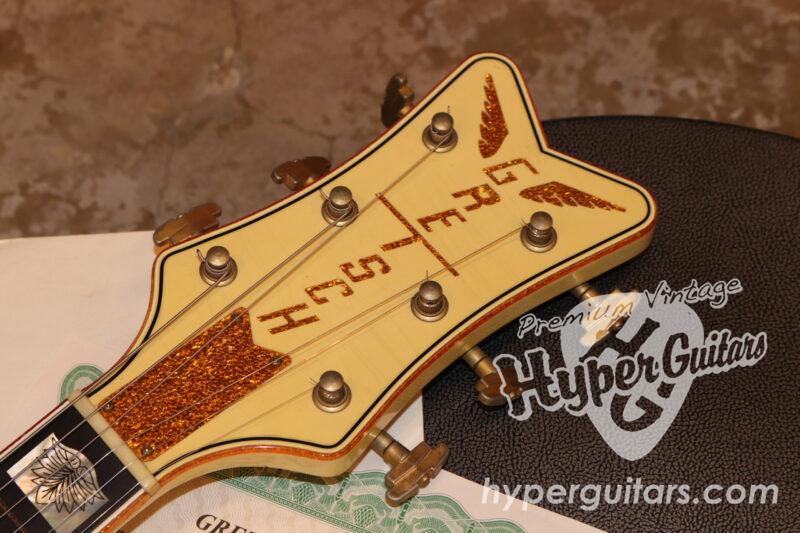 "Gretsch USA Custom Shop '06 #G6136CST White Falcon Relic ""by Stephen Stern"""
