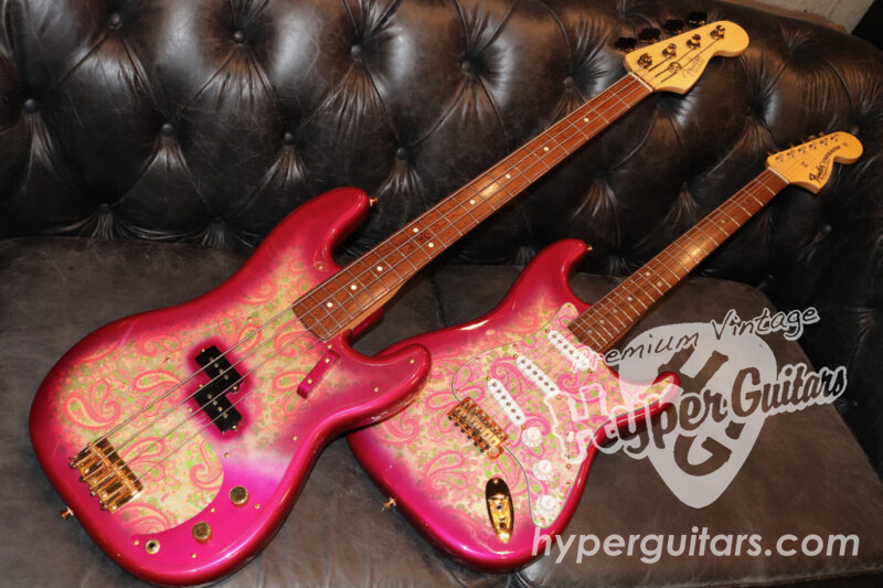 Fender Custom Shop '00 Custom Paisley Matched Set by Jason Davis